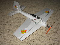 Name: IMG_0011.jpg Views: 79 Size: 301.7 KB Description: 2nd version: 2 cells and park 180 motor (120 gr thrust) and flat thin airfoil-lots of power