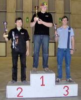 Name: Mons_podium.jpg Views: 201 Size: 102.4 KB Description: The winners. From L. to Right: 2nd Benoit Dierickx (Belgium), winner Donatas Pauzuolis (Lithuania), 3rd Derk van der Vecht (Netherlands)