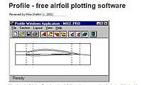 Name: Airfoil plotter.JPG Views: 31 Size: 35.4 KB Description: Screen shot of the plotter.