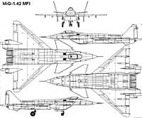 Name: mig142mfi_3v.jpg Views: 82 Size: 103.8 KB Description: That's a lot of fuselage, and at a foot wide, I do mean a lot.