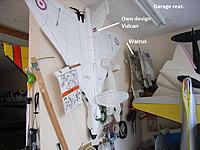 Name: Storage (3).jpg Views: 136 Size: 145.3 KB Description: Hanging on the garage rear 'work area'.