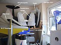 Name: Storage (4).jpg Views: 135 Size: 147.3 KB Description: Garage rear 'work area'. Also a fridge, drier, and spinner.