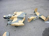 Name: B-25july12 (3).jpg Views: 407 Size: 120.3 KB Description: Fuselage splits in two.