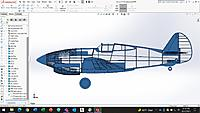 Name: IE P40 profile.jpg Views: 29 Size: 308.7 KB Description: Same CAD model after a nose job