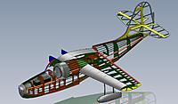 Name: Grumman Goose frame 3_4.jpg Views: 1459 Size: 160.3 KB Description: Here is the completed framework with most of the guts installed