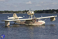 Name: volmer-vj-22.jpg Views: 72 Size: 163.4 KB Description: The traditional Sportsman config;  round tail, pusher, and solid floats