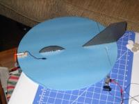 "Name: miniufo.jpg Views: 1226 Size: 74.7 KB Description: Mini-Ufo - Alien Style! 16"" diameter w/ EDP-50XC"