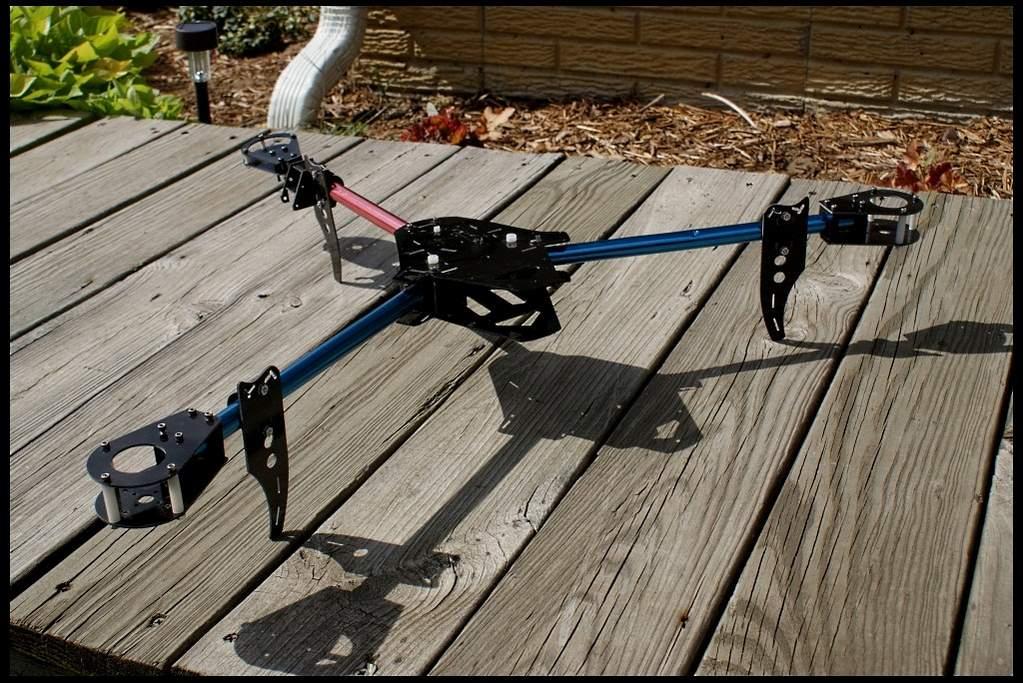 FS: Matrix 2 Folding Tricopter Frame - RC Groups