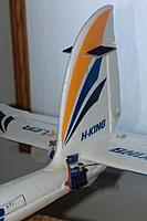 Name: Bixler-Tail.jpg Views: 791 Size: 218.6 KB Description: Bixler tail with tail mounted servos and Keychain Camera mount.