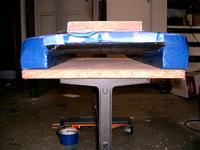 Name: m_rescue boat 027.jpg Views: 373 Size: 54.7 KB Description: Rear view. Flat square sponsons helps keep the nose down.