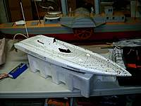 Name: Arowana 026.jpg Views: 225 Size: 52.5 KB Description: Arowana SSS 2200kv motor, Seaking 180 ESC, 4s Lipo, m440/3 blade prop.