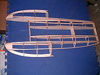 Name: m_8.jpg Views: 200 Size: 36.0 KB Description: Stringers fitted. Bottom view.