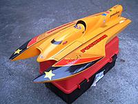 Name: Poseidon Hydro..jpg Views: 86 Size: 63.0 KB Description: Poseidon-  Restricted Sports Hydro class. Proboat 1500kv motor, Aquacraft 45A ESC, 4s lipo, CNC 447 prop. Sold