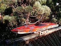 Name: Outer Limits.jpg Views: 108 Size: 103.5 KB Description: Outer Limits Stepped hull mono. TFL 3660 2075kv motor, 4s Lipo,,120A ESC. 440/3 prop. Sold