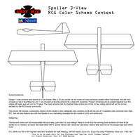 """Name: spoilercontest.jpg Views: 696 Size: 110.9 KB Description: The EAST R/C """"Spoiler Scheme"""" Contest 3-Views"""