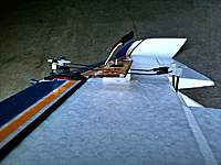 Name: Seawind2.jpg Views: 276 Size: 46.1 KB Description: Here it is with the connectors on the bottom of the arm and the pushrods bent near the ailerons.