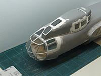Name: DSCF7598.jpg Views: 217 Size: 186.6 KB Description: Mock up with nose glazing and ventral gondola.