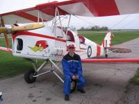 Name: bipes 035.jpg Views: 706 Size: 59.6 KB Description: A happy co-pilot after his first TigerMoth flight.