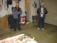 Name: Ron and Bill  working on landing and take offs.jpg