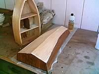 Name: Fiberglass on 091005_002.jpg Views: 108 Size: 75.3 KB Description: Shelf boat and Pram II