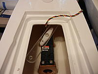 Name: New sail arm installed on 815bb servo.jpg