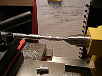 Name: Mast foot being cut out of aluminum.jpg