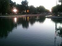 Name: Plaza Park with night lights on.jpg Views: 63 Size: 138.9 KB Description: May 26 2011, Plaza Park with night lights on