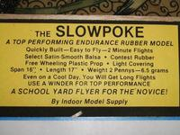 Name: Slowpoke 007.jpg Views: 105 Size: 64.9 KB Description: I read the lable, not exactly a penny plane.  A 2 Penny plane. 6.5g