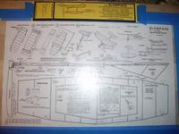 Name: Slowpoke 002.jpg Views: 125 Size: 86.4 KB Description: plans taped to the board and covered with waxed paper.