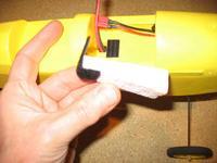 Name: Foam Block 2.jpg Views: 280 Size: 63.0 KB Description: Foam block to secure battery.