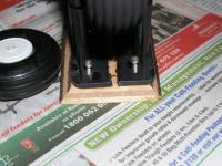 Name: cutandspread.jpg Views: 242 Size: 50.7 KB Description: To fit the larger wheel an easy cut and spread was undertaken.