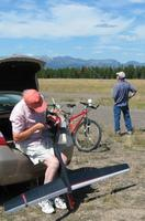 Name: West Yellow, MT.   Les and Ray at work.jpg Views: 203 Size: 45.6 KB Description: