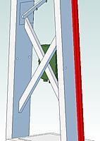 "Name: Mast Crossmembers.jpg Views: 102 Size: 50.9 KB Description: 1"" x 3"" Crossmembers."