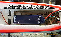 Name: Battery installed further aft than stock..jpg