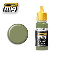 Light Gray Green FS 34424