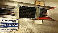 heatshrink removed from stock P-32 100A esc