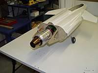 Name: Rafale_aero_turb9.jpg Views: 322 Size: 30.4 KB Description: Aeronaut Rafel fitted with turbine