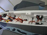 Name: DSC00227.jpg Views: 74 Size: 130.3 KB Description: the rudder servo had to be reversed