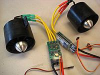 Name: DSC06784.jpg Views: 22 Size: 641.7 KB Description: Twin WeMoTec EVO 70mm & ARC motors