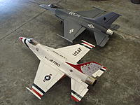 Name: DSC08948.jpg Views: 37 Size: 659.9 KB Description: next to JePe F-16 90mm