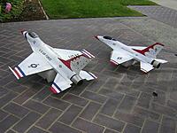 Name: DSCN3536.JPG Views: 39 Size: 587.6 KB Description: Ph3 F-16 70mm edf, next to JePe 90mm