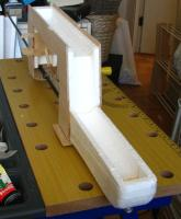 Name: Fuse boom.jpg Views: 279 Size: 72.4 KB Description: Fig 4 - Fuselage with boom and plywood hardware installed