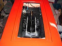 Name: T0022.jpg Views: 111 Size: 120.6 KB Description: Motor mounting rails after the final layer of carbon fiber