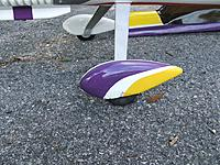 Name: Yak5.jpg Views: 43 Size: 208.1 KB Description: Minor cracking in gel coat on left wheel pant