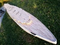 Name: 101_5408.jpg Views: 151 Size: 165.4 KB Description: Real wood, individually planked boards deck.  This will be sold in a rectangular shape by your spec.  You cut to fit unless template is provided.
