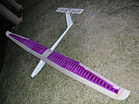 Name: Scratch build 235.jpg Views: 146 Size: 305.7 KB Description: The glider taking shape, I think it looks neat.