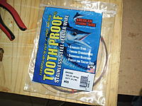 Name: SAM_1564.jpg Views: 249 Size: 259.6 KB Description: After breaking the old wire I restrung with some new 48kg trace wire.