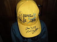 Name: SAM_1261.jpg Views: 158 Size: 76.1 KB Description: My Kid had his Sungazer Scale cap signed by Joe Wurts, David Hobby and Daryl Perkins, a few lads who know how to point a glider around the sky.