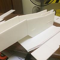 Name: IMG_9028.jpg Views: 262 Size: 275.7 KB Description: Both side fuselage and fuselage bottom panel are now in. Also wise able to fit in the motor mount together during this time.