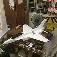 Name: IMG_9058.jpg Views: 406 Size: 420.5 KB Description: All is in for maiden flight. Completed the building in one day.